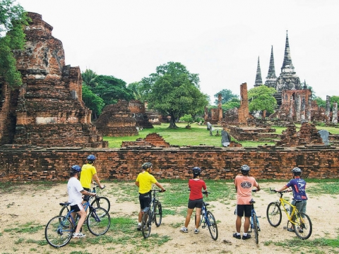 Central Thailand Cycling Tour