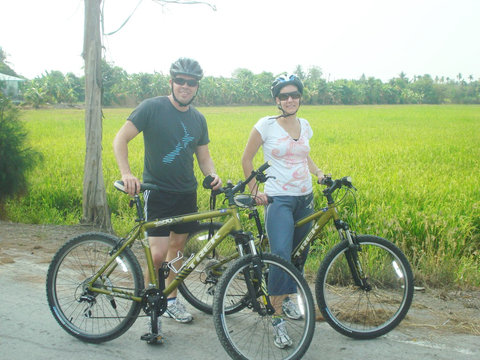 Bangkok Jungle Cycling Tour