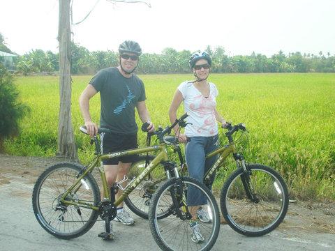Bangkok Countryside Cycling Tour