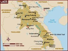 Where to go in Laos