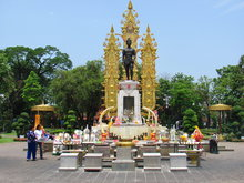 The King Mengrai the Great Memorial