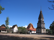 Wat Phabath and Wat Phonsanh Temples