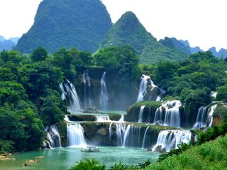 Ba Be Lake - Ban Gioc Waterfall