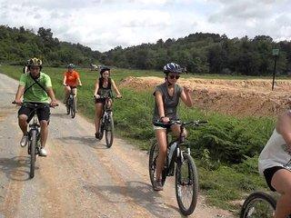Cycling to Chiang Rai – 40km (B, L)