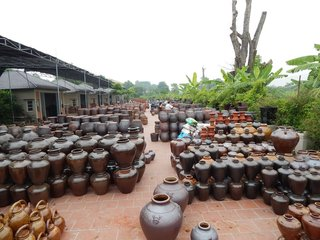 Hanoi City Tour - Bat Trang Pottery Village - Night Train to Sapa (B, L)