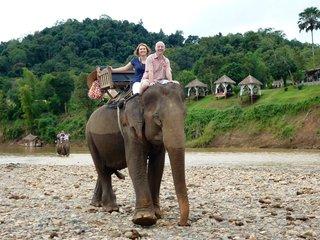 Luang Prabang - Elephant Ride (B)