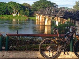 Kanchanaburi Cycling Tour 3 Days