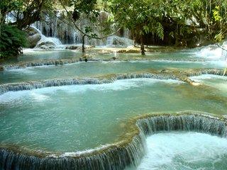 Pak Ou Caves - Kuang Si Falls 1 Day