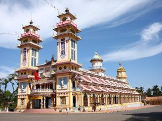 Saigon - Cao Dai Temple – Cu Chi Tunnels (B, L)