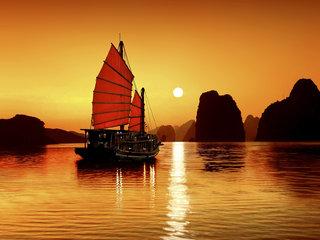 Hanoi – Halong Bay Overnight Cruise (B, L, D)
