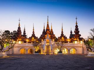 Bangkok – Chiang Mai: Doi Suthep Temple Tour (B, L, D)