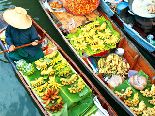 Damnoen Saduak Floating Market Cycling Tour