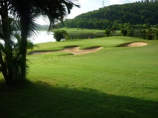 Golfing at Chi Linh Star Golf & CC - Halong Bay (B, D)