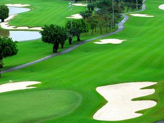 Golfing at Long Thanh Golf Club (B)