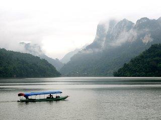 Boat Cruise on Ba Be Lake (B, L, D)