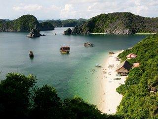 Cat Ba Island – Lan Ha Bay – Viet Hai Fishing Village (B, L)