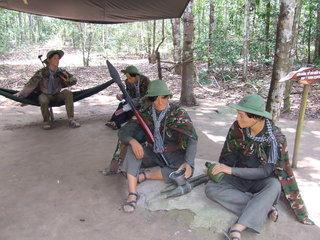 Saigon – Tay Ninh - Cu Chi Tunnels (B, L, D)