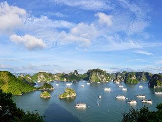 Hanoi - Halong Overnight Cruise (L, D)