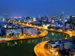 Chau Doc – Saigon (B, L)