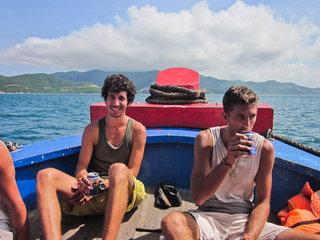 Nha Trang Half Day Meeting – Nha Trang Boat Tour (B, L, D)