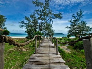 Cambodia Beach Break