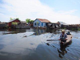Phnom Penh – Siem Reap – Tonle Sap Lake (B, L, D)