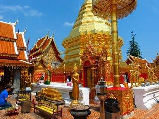 Bangkok - ChiangMai: Doi Suthep Temple Tour (B, L, D)