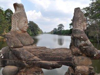 Sunset Cruise On Angkor Thom Moat