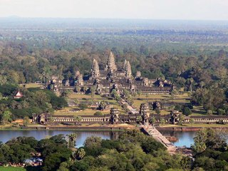 Angkor From The Sky