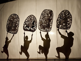 Shadow Puppet Theater in Siem Reap