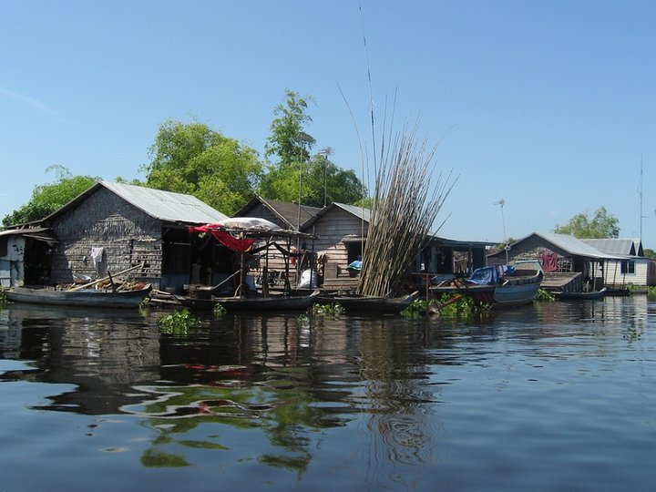 Chong Kneas Floating Village